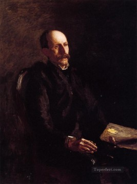 Charles Oil Painting - Portrait of Charles Linford the Artist Realism portraits Thomas Eakins
