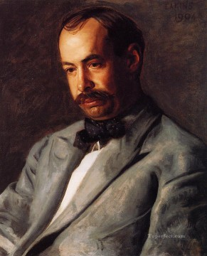 portrait portraits Painting - Portrait of Charles Percival Buck Realism portraits Thomas Eakins
