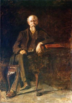 portraits Art Painting - Portrait of Dr William Thompson Realism portraits Thomas Eakins