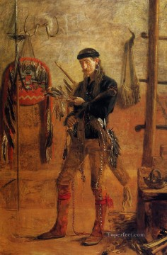 Thomas Eakins Painting - Portrait of Frank Hamilton Cushing Realism portraits Thomas Eakins