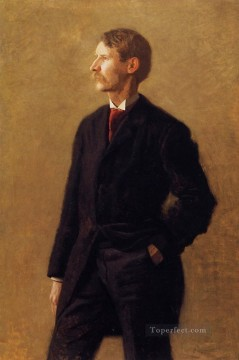 portraits Art Painting - Portrait of Harrison S Morris Realism portraits Thomas Eakins