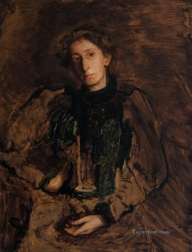 portrait Painting - Portrait of Jennie Dean Kershaw Realism portraits Thomas Eakins