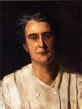 portrait portraits Painting - Portrait of Lucy Langdon Williams Wilson Realism portraits Thomas Eakins