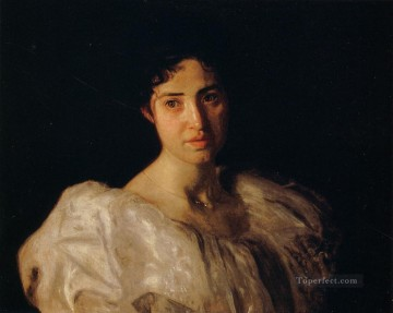 portraits Art Painting - Portrait of Lucy Lewis Realism portraits Thomas Eakins