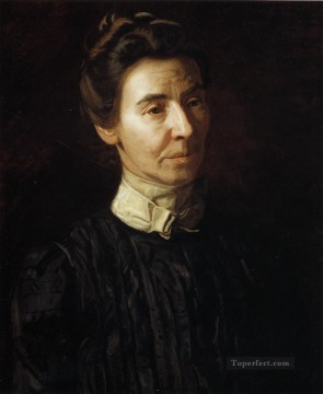 portrait Painting - Portrait of Mary Adeline Williams Realism portraits Thomas Eakins