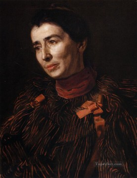 portrait Painting - Portrait of Mary Adeline Williams2 Realism portraits Thomas Eakins