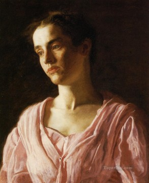 Cook Art - Portrait of Maud Cook Realism portraits Thomas Eakins