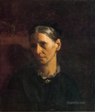 Row Painting - Portrait of Mrs James W Crowell Realism portraits Thomas Eakins