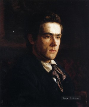 portrait portraits Painting - Portrait of Samuel Murray Realism portraits Thomas Eakins