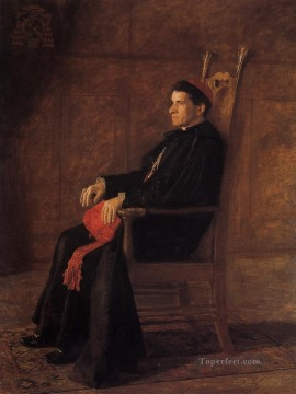 Portrait of Sebastiano Cardinal Martinelli Realism portraits Thomas Eakins Oil Paintings