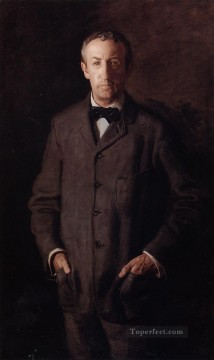 portrait portraits Painting - Portrait of William B Kurtz Realism portraits Thomas Eakins