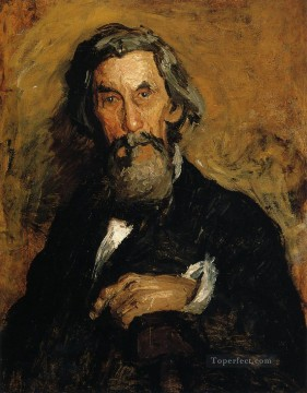 portrait portraits Painting - Portrait of William H MacDowell Realism portraits Thomas Eakins