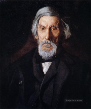 Portrait of William H MacDowell2 Realism portraits Thomas Eakins Oil Paintings