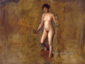 Thomas Eakins Painting - William Rushs Model Realism portraits Thomas Eakins