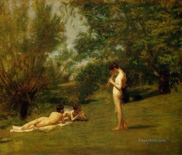 Arcadia Realism Thomas Eakins Oil Paintings