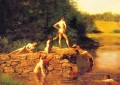 The Swimming Hole Realism Thomas Eakins