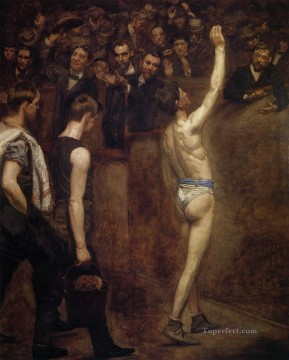Salutat Realism Thomas Eakins Oil Paintings