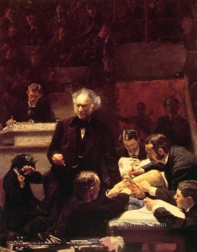 Thomas Eakins Painting - The Gross Clinic Realism Thomas Eakins
