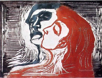 Edvard Munch Painting - man and woman i 1905 Edvard Munch