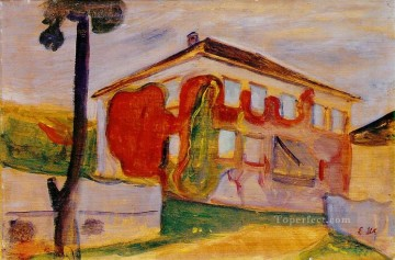 Edvard Munch Painting - red creeper 1900 Edvard Munch