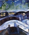 starry night 1924 Edvard Munch