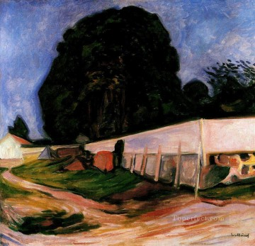 Edvard Munch Painting - summer night at aasgaardstrand Edvard Munch