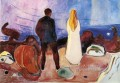 the lonely ones 1935 Edvard Munch