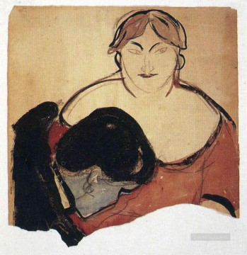 young man and prostitute 1893 Edvard Munch Oil Paintings