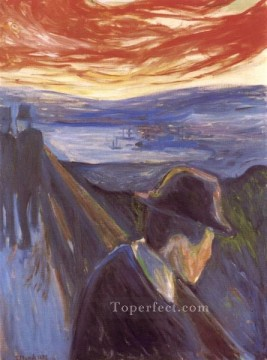 despair 1892 Edvard Munch Oil Paintings