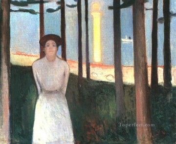 the voice 1893 Edvard Munch Oil Paintings
