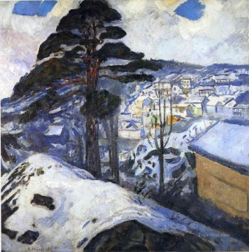 Edvard Munch Painting - winter kragero 1912 Edvard Munch