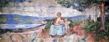 1916 Works - alma mater 1916 Edvard Munch