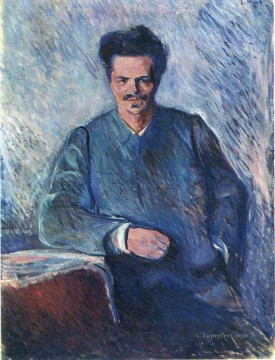 Edvard Munch Painting - august stindberg 1892 Edvard Munch