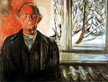 Edvard Munch Painting - by the window 1940 Edvard Munch