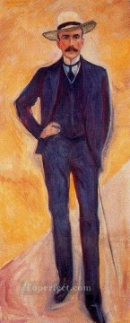 Edvard Munch Painting - count harry kessler 1906 Edvard Munch