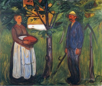 Edvard Munch Painting - fertility ii 1902 Edvard Munch