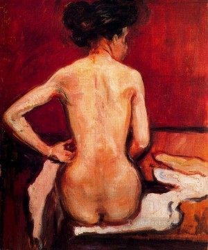 Edvard Munch Painting - nude 1896 Edvard Munch