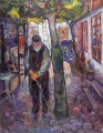 old man in warnemunde 1907 Edvard Munch