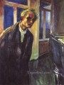 self portrait the night wanderer 1924 Edvard Munch
