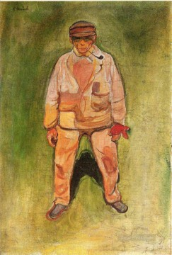 Edvard Munch Painting - the fisherman 1902 Edvard Munch