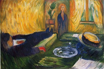 Edvard Munch Painting - the murderess 1906 Edvard Munch