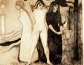 the women 1895 Edvard Munch