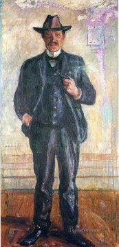 thorvald stang 1909 Edvard Munch Oil Paintings