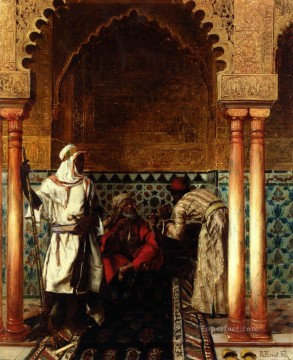 Rudolph Ernst Der Weise The Sage 1886 Rudolf Ernst Oil Paintings