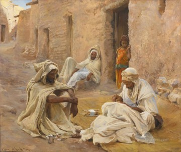 Artworks by 350 Famous Artists Painting - The Tailor Eugene Girardet Orientalist