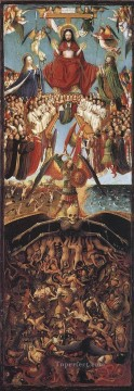 renaissance Painting - Last Judgment Renaissance Jan van Eyck