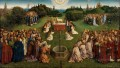 The Ghent Altarpiece Adoration of the Lamb Renaissance Jan van Eyck
