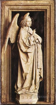 Annunciation 1 Renaissance Jan van Eyck Oil Paintings