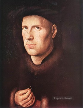 renaissance Painting - Portrait of Jan de Leeuw Renaissance Jan van Eyck