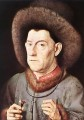 Portrait of a Man with Carnation Renaissance Jan van Eyck